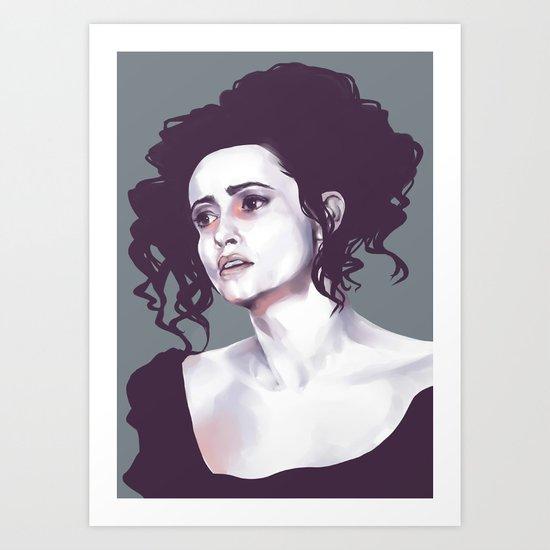 Helena Bonham Carter (Sweeney Todd) Art Print