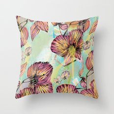 Exotic Flowers 3  Throw Pillow
