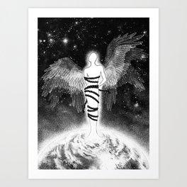 Rising spirit Art Print