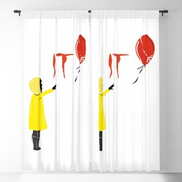 IT clown Pennywise Blackout Curtain