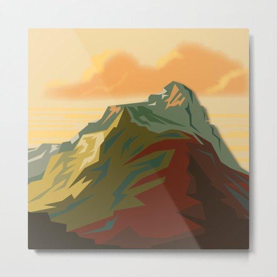 Night Mountains No. 44 Metal Print
