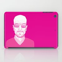 walter white iPad Cases featuring Walter White by Ron Chan