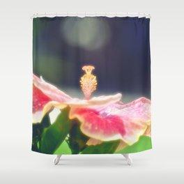 Romantic Hibiscus Shower Curtain