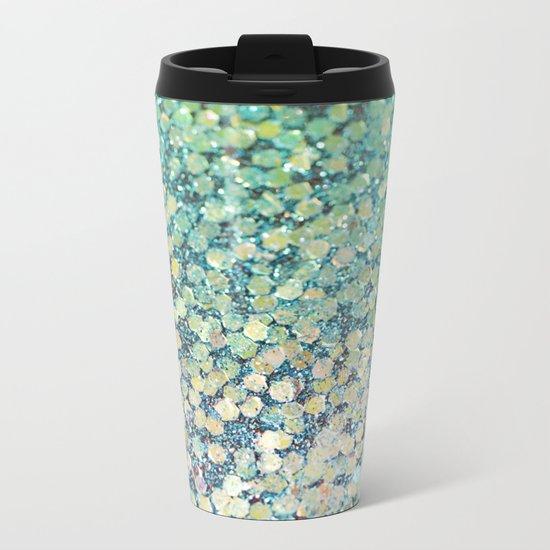 Mermaid Scales Metal Travel Mug