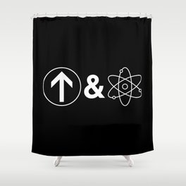 Up&Atom Shower Curtain