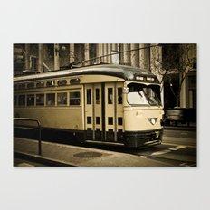 San Francisco Street Car Canvas Print