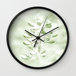 Lupine in Vintage color #decor #society6 Wall Clock