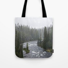 Yellowstone Forest - Nature Photography Tote Bag