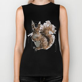 Squirrel you glad to see me? Biker Tank