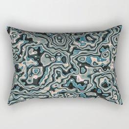 Liquid Neptune Rectangular Pillow