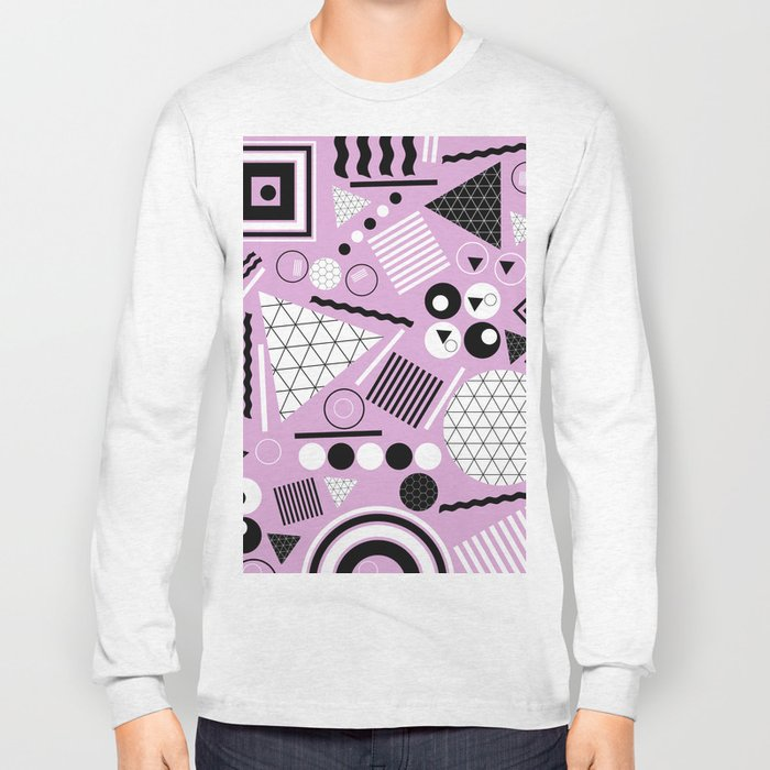 Busy Busy Busy Black And White! Long Sleeve T-shirt