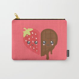 Strawberry & Chocolate Carry-All Pouch