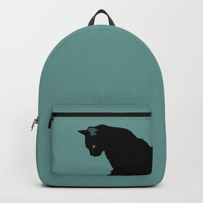Blue Cat Backpack
