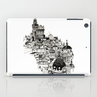 madrid iPad Cases featuring Madrid by Justine Lecouffe