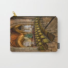 Cathedral Christmas Carry-All Pouch