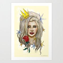 Goddess of LOVE Art Print