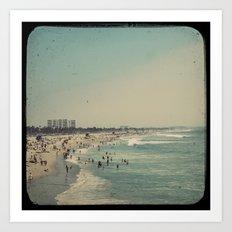 Vintage Venice Beach Art Print