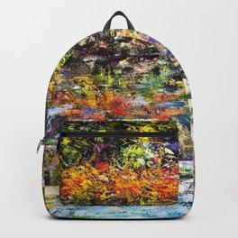 Hidden Peace by Sher Nasser Artist Backpack