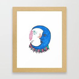 MysticMysteryMoon Framed Art Print