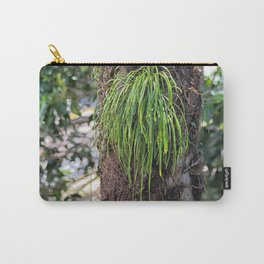 Epiphyte growth on tree in rainforest Carry-All Pouch