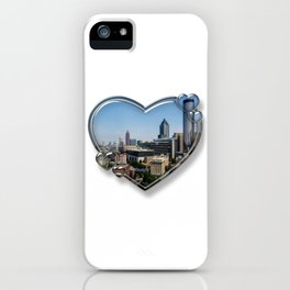 I Love Atlanta iPhone Case