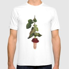 Blind Date White Mens Fitted Tee MEDIUM