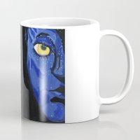 avatar Mugs featuring Avatar by Paxelart