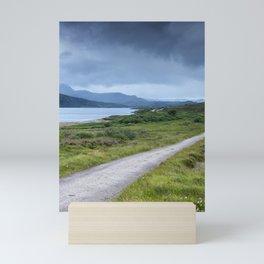 Road in the Highlands Mini Art Print