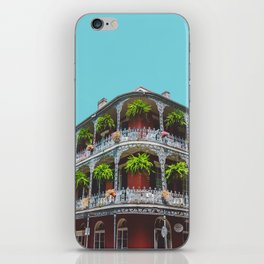 Hanging Baskets of Royal Street, New Orleans iPhone Skin