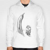 banana Hoodies featuring Banana? by Tony Heath