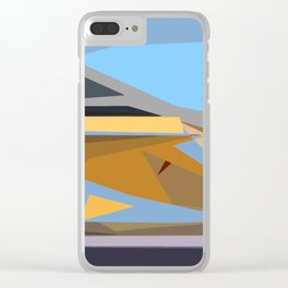 Abstracto8 Clear iPhone Case