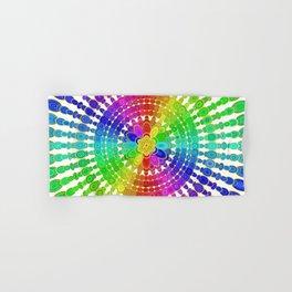 Rainbow Mandala Hand & Bath Towel