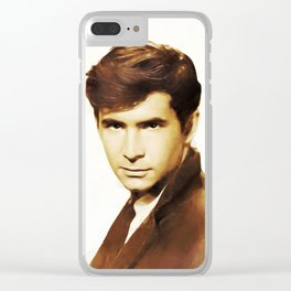 Hollywood Legends, Anthony Perkins, Actor Clear iPhone Case