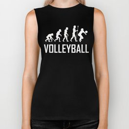 Volleyball Evolution Biker Tank