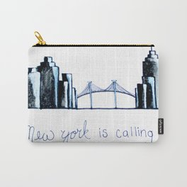 New York is Calling Carry-All Pouch