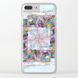 Stonework Clear iPhone Case