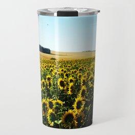 Field of Sunflowers Travel Mug
