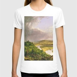 The Oxbow (Connecticut River near Northampton) by Thomas Cole T-shirt