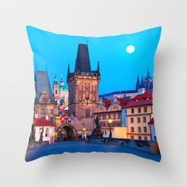 PRAGUE 001A Throw Pillow