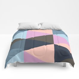 Triangle Meltdown Comforters