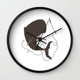 Moby Dick Wall Clock