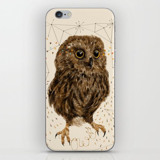 Mr.Owl IV iPhone & iPod Skin