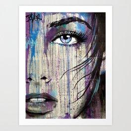 indigo feeling Art Print