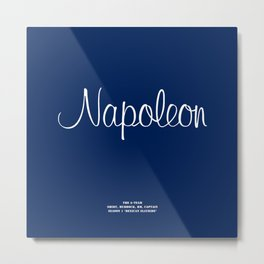 Howlin' Mad Murdock's 'Napoleon' shirt Metal Print