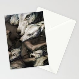 Uninterrupted chain Stationery Cards