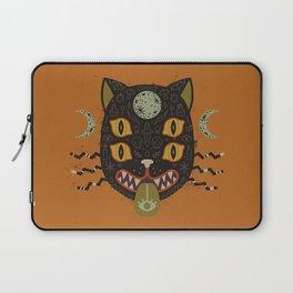 Spooky Cat Laptop Sleeve