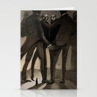 kafka Stationery Cards featuring Kafka by Cory Michael Ecker