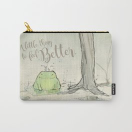 The frog under the rain 2 Carry-All Pouch