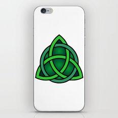 celtic knot symbol iPhone & iPod Skin
