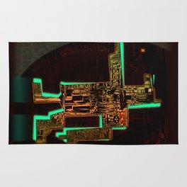 Spatial Robotic City Lab Rug